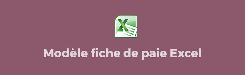 Favori Modele de fiche de paie excel gratuit Tunisie AH67
